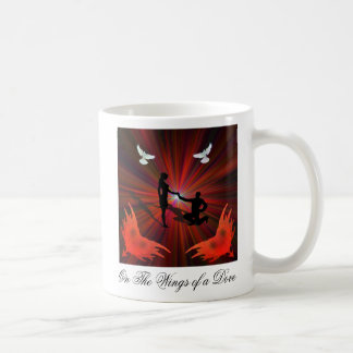 On the Wings of a Dove Mugs