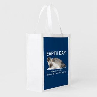 On Thin Ice Reusable Grocery Bag