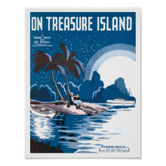 On Treasure Island poster