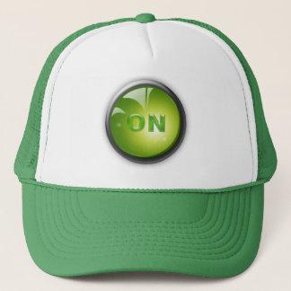 ON TRUCKER HAT