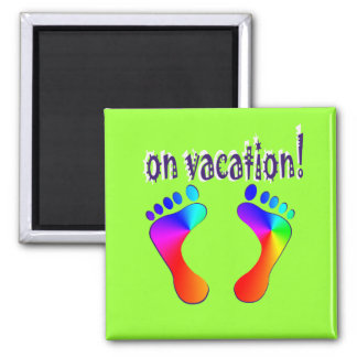 on vacation magnet