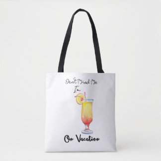 On Vacation Sunrise Tote