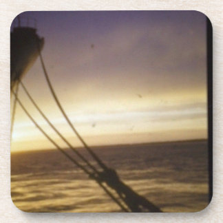 on water scenic beverage coasters