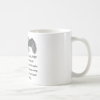 On wings like Eagles - Is 40:31 Coffee Mug