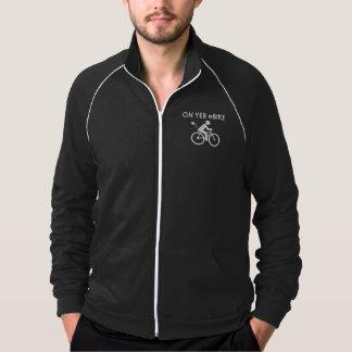 """""""On yer eBike"""" custom jackets for men"""