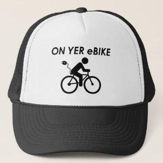 """""""On yer ebike"""" hats"""