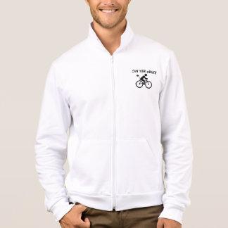 """""""On yer ebike"""" jackets for men"""