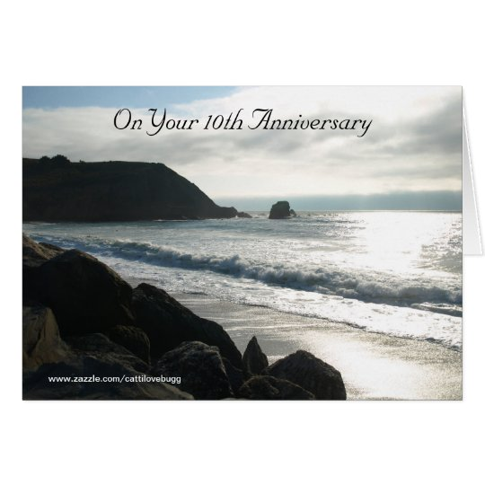 On Your 10th Anniversary Card