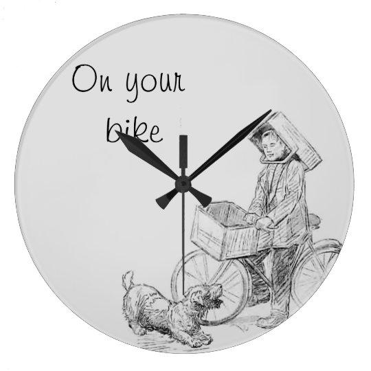 On your bike clocks