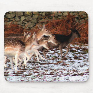 On your marks (deer) mouse pad