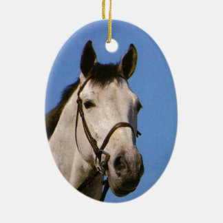 On your special day, Grey horse Ornaments
