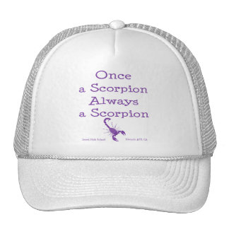 Once a Scorpion Mesh Hats