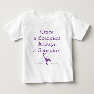 Once a Scorpion Tee Shirts