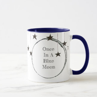 Once In A Blue Moon Whimsy Mug