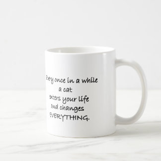 Once In A While (Cat) Animal Rescue Mug