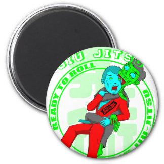 Once the Jiu Jitsu Zombie takes your back, there i Magnet
