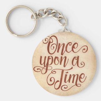 Once upon a Time Basic Round Button Keychain