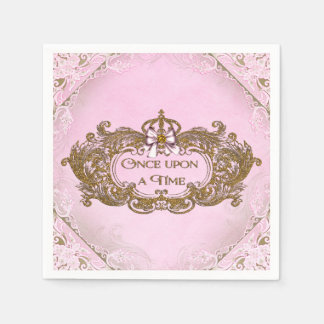 Once Upon a Time Birthday Party Disposable Napkins