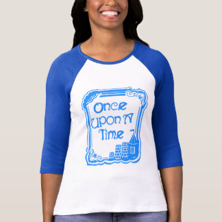 Once Upon A Time Blue Women's Bella Raglan T-Shirt