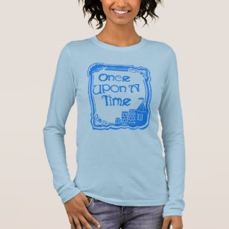 Once Upon A Time Blue Women's Long Sleeve T-Shirt
