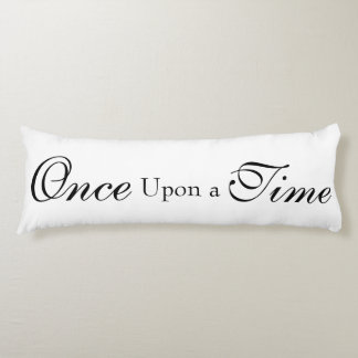Once upon a time body pillow