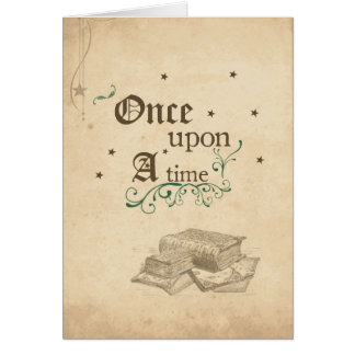 Once Upon A Time Card