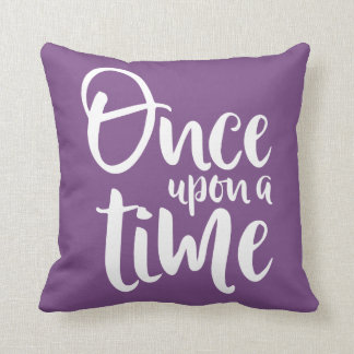 Once Upon A Time Fairytale Choose Your Own Color Throw Pillow