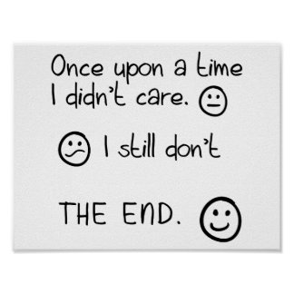 Once Upon a Time Funny Poster