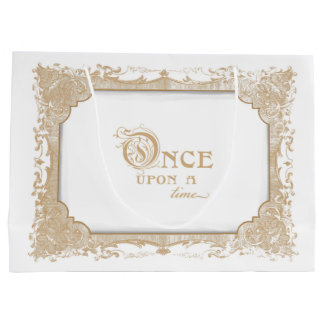 Once Upon a Time Gift Bag White