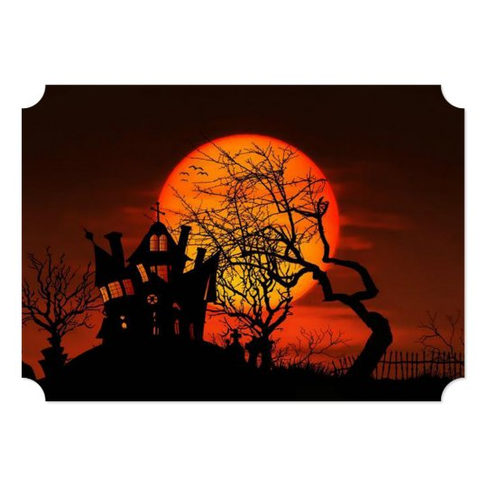 Once Upon A Time Halloween Party Invitations