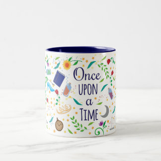 Once Upon a Time in White Two-Tone Coffee Mug