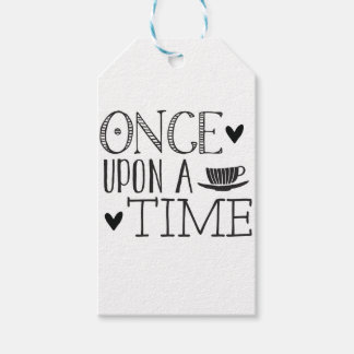 once upon a time pack of gift tags