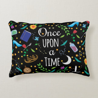 Once Upon a Time Pillow Design