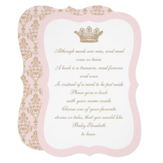Once Upon a Time Princess Crown Card