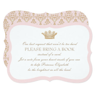 Once Upon a Time Princess Insert Card