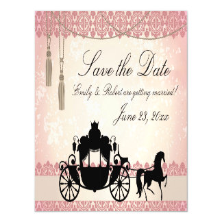 Once Upon a Time Save the Date Magnetic Card