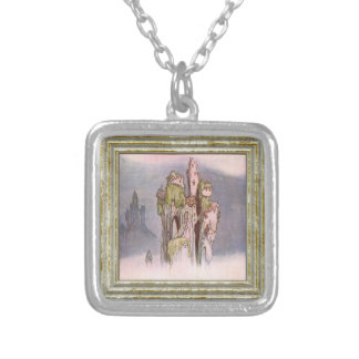 Once Upon A Time Silver Plated Necklace