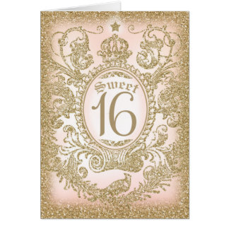 Once Upon a Time Sweet 16 Card