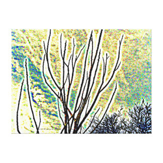 ONCE WAS A FOREST CANVAS PRINT