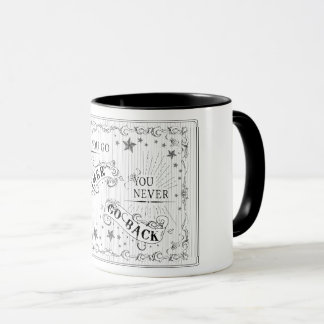 Once You Go Gamer You Never Go Back black on white Mug