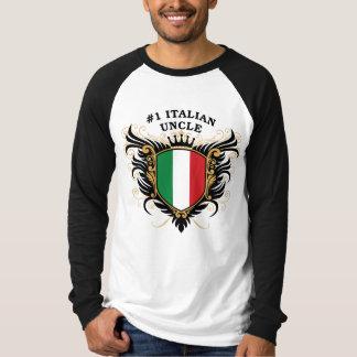 Oncle italien du numéro un t-shirt