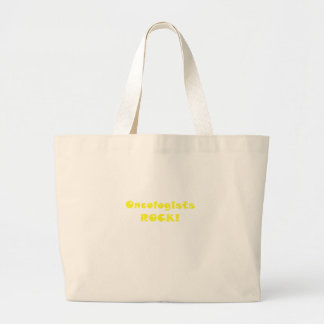 Oncologists Rock Large Tote Bag