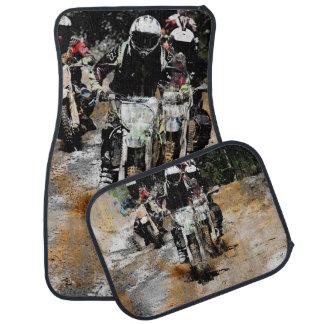 Oncoming! - Motocross Racer Car Mat
