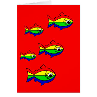 Oncor Hynchus Mykiss - Raibow Trout Card