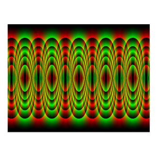 onde de plasma cartes postales