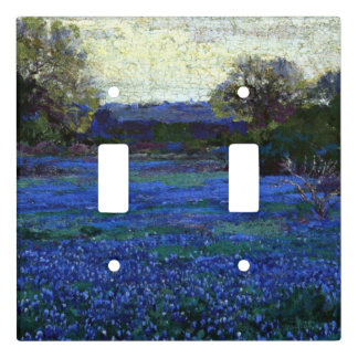 Onderdonk - Bluebonnets on a Gray Day Light Switch Cover