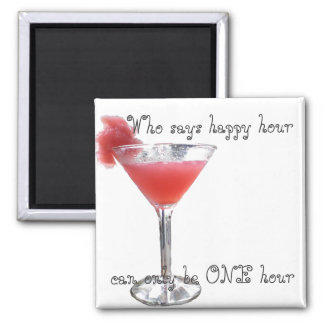 One and Only Happy Hour Magnet
