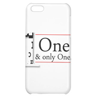 one and only one case for iPhone 5C