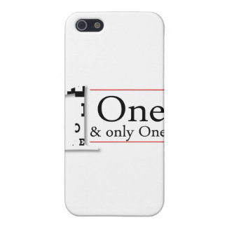 one and only one iPhone 5 cases