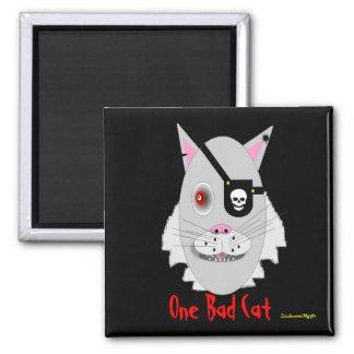 One Bad Cat Magnet